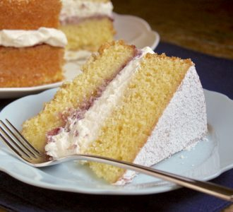 slice of victoria sandwich