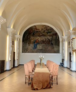 The Refectory in Hotel San Francesco al Monte