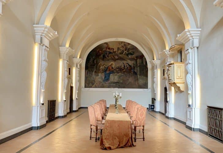 The Refectory in Hotel San Francesco al Monte