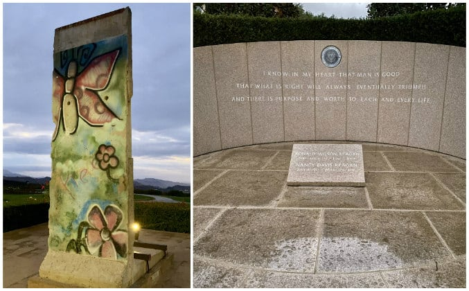 discover the Conejo Valley piece of the Berlin Wall and Reagan Memorial