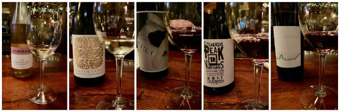 Cornell winery tasting