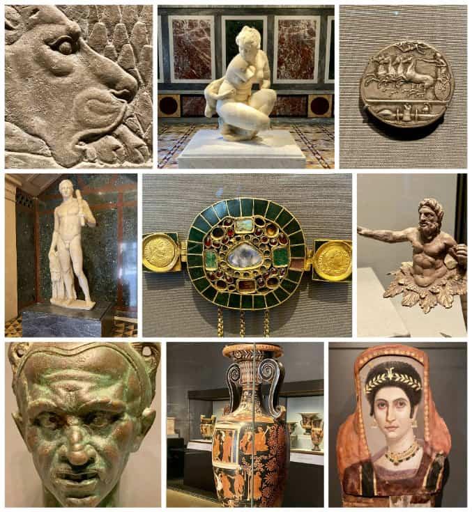 Getty Villa artifacts