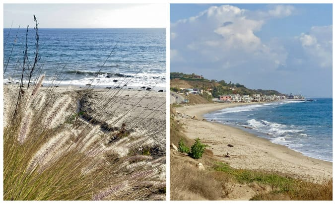 Pacific Ocean views from Malibu