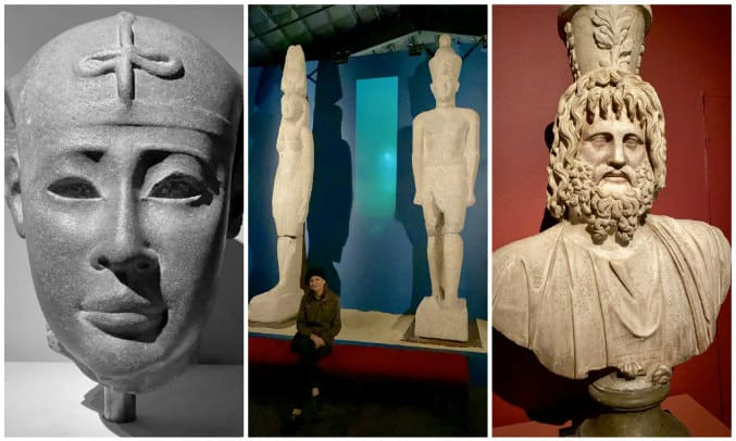 Egypt's lost cities statues