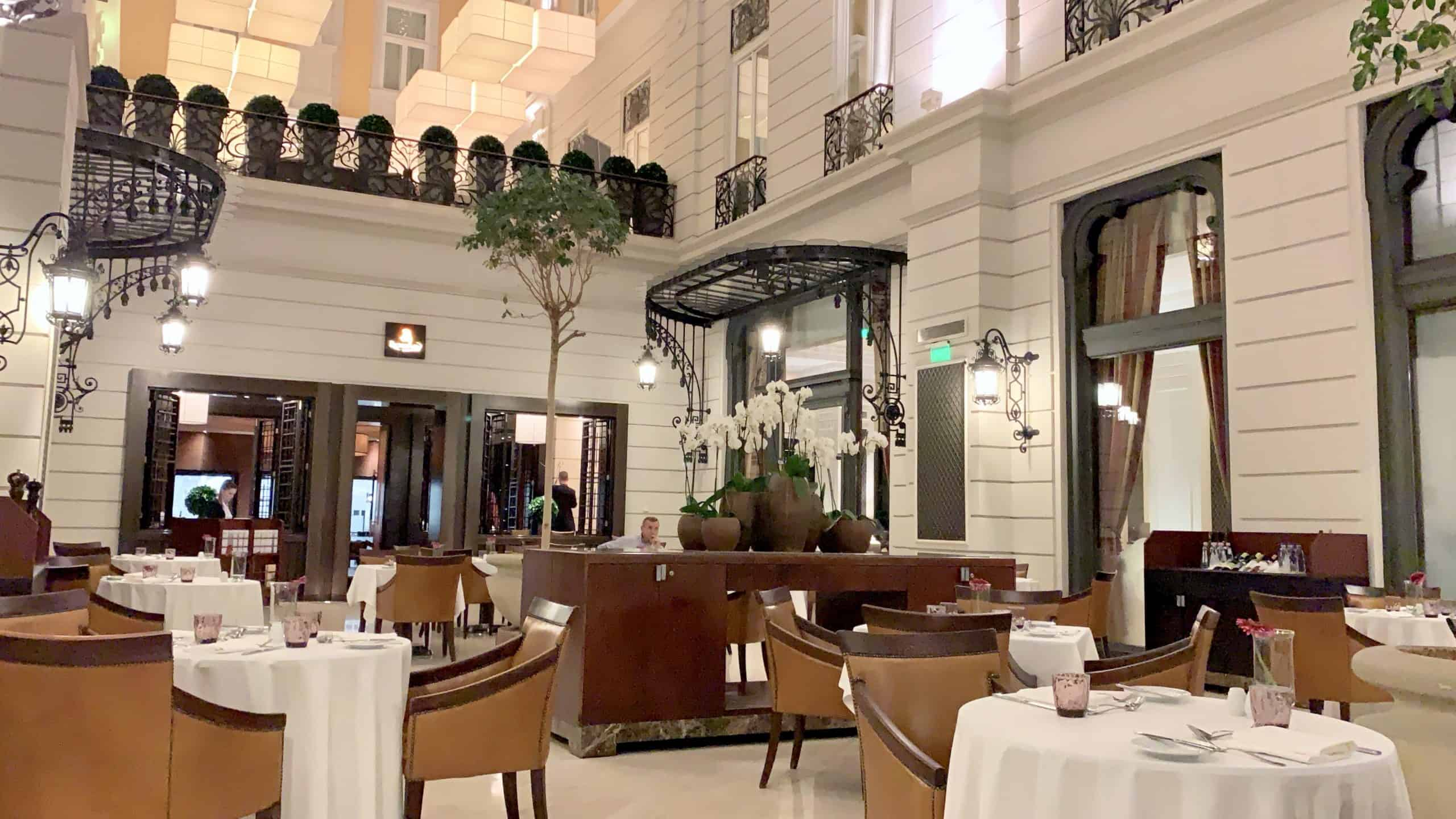 Brasserie and Atrium
