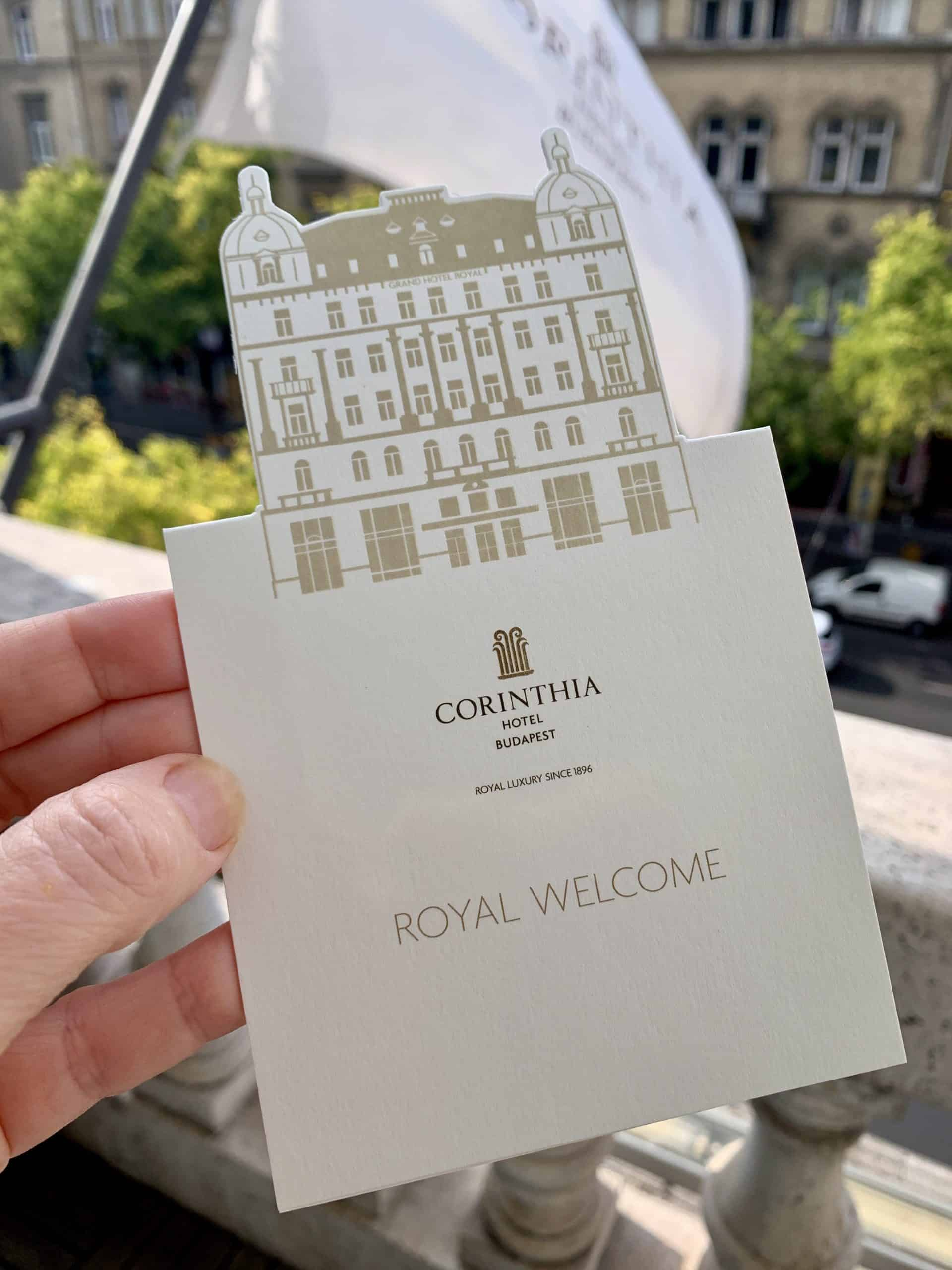 Royal welcome at the Corinthia Hotel Budapest
