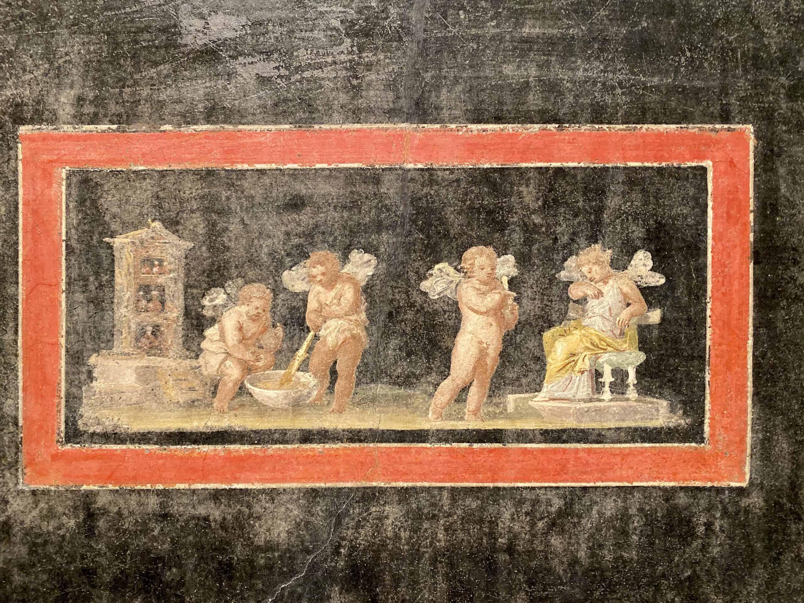 Getty Villa fresco