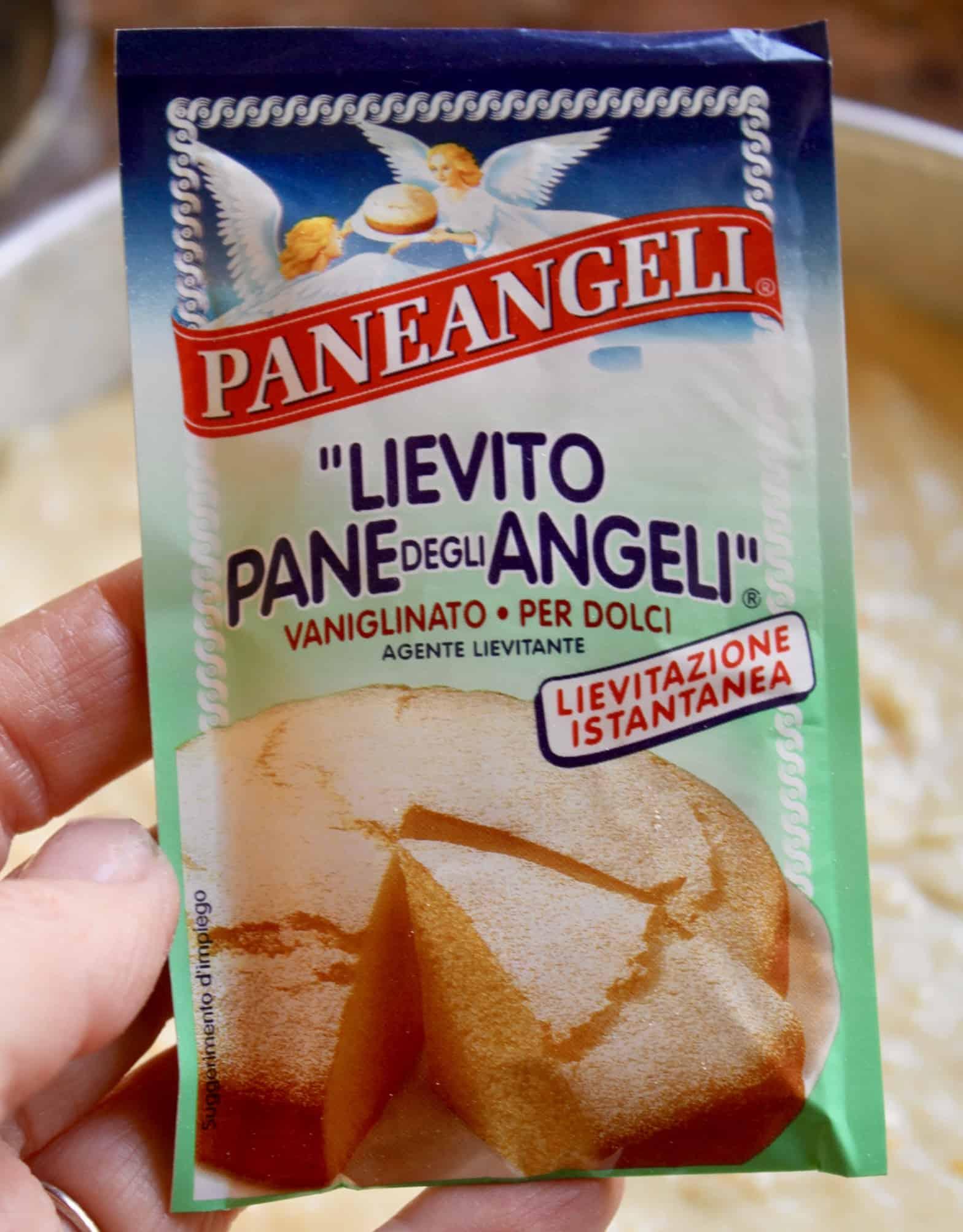 paneangeli italian yeast for cake