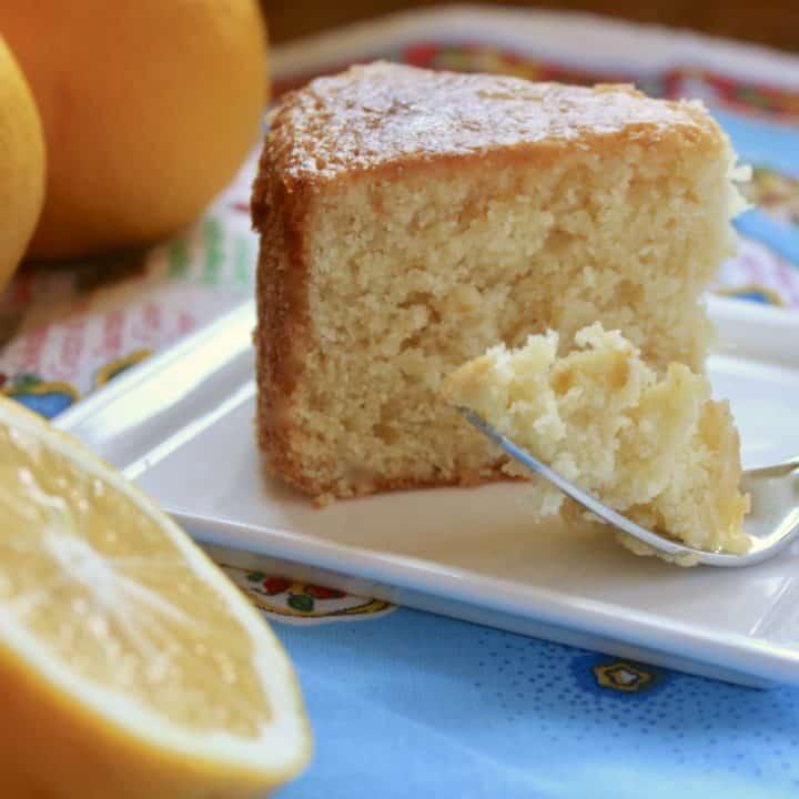 whole lemon cake