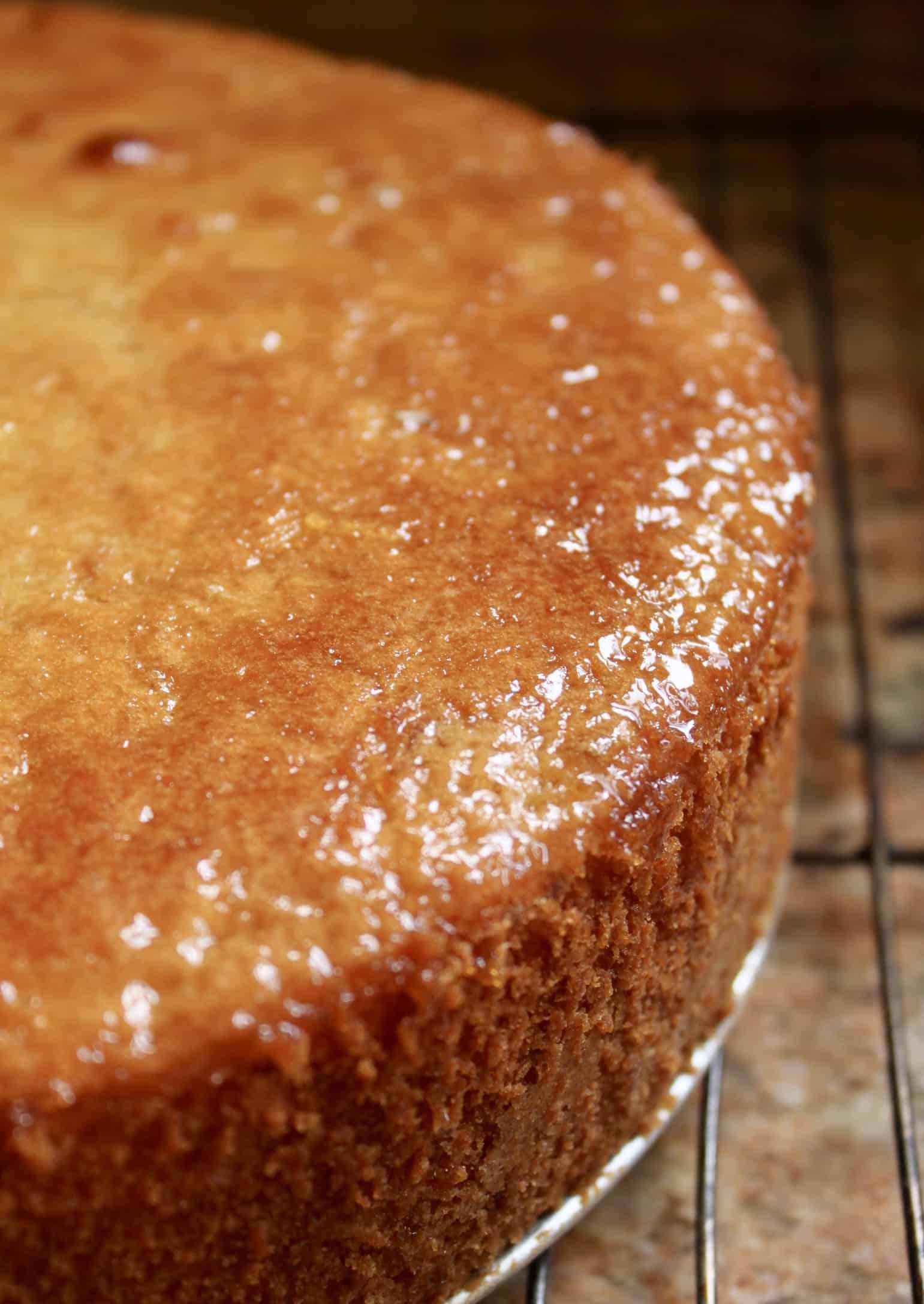 glazed whole lemon cake