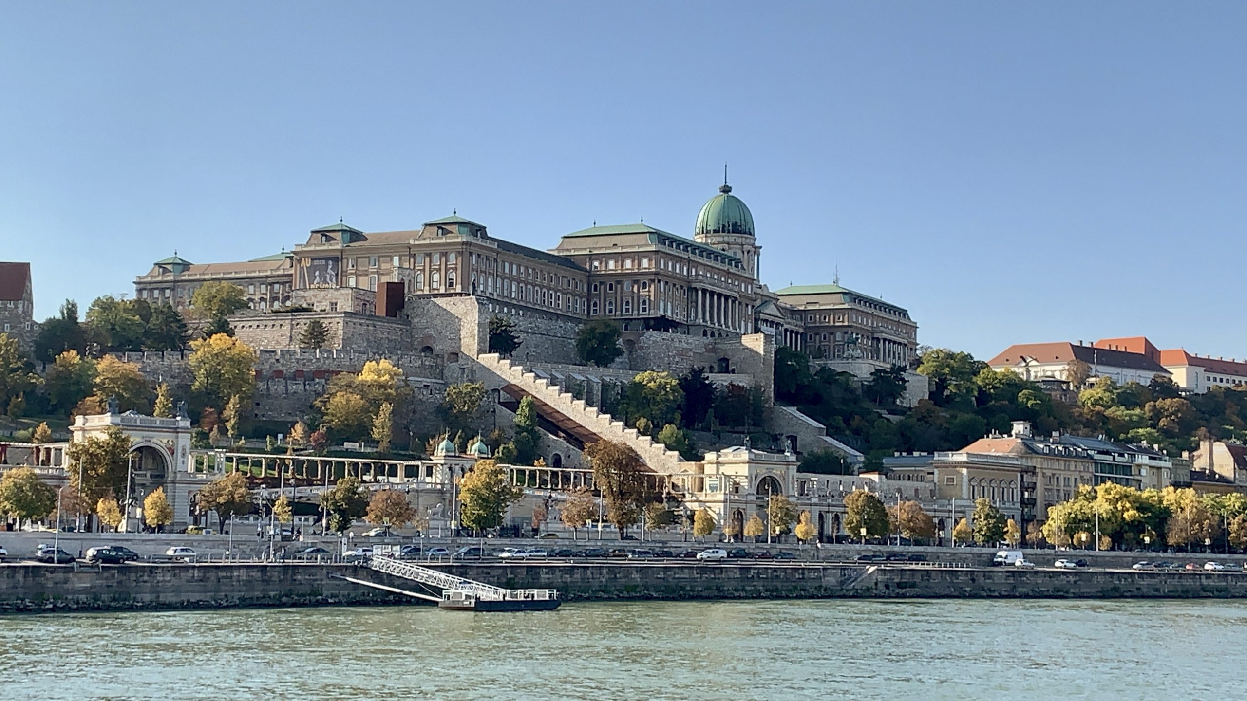 Budapest cruising the danube river