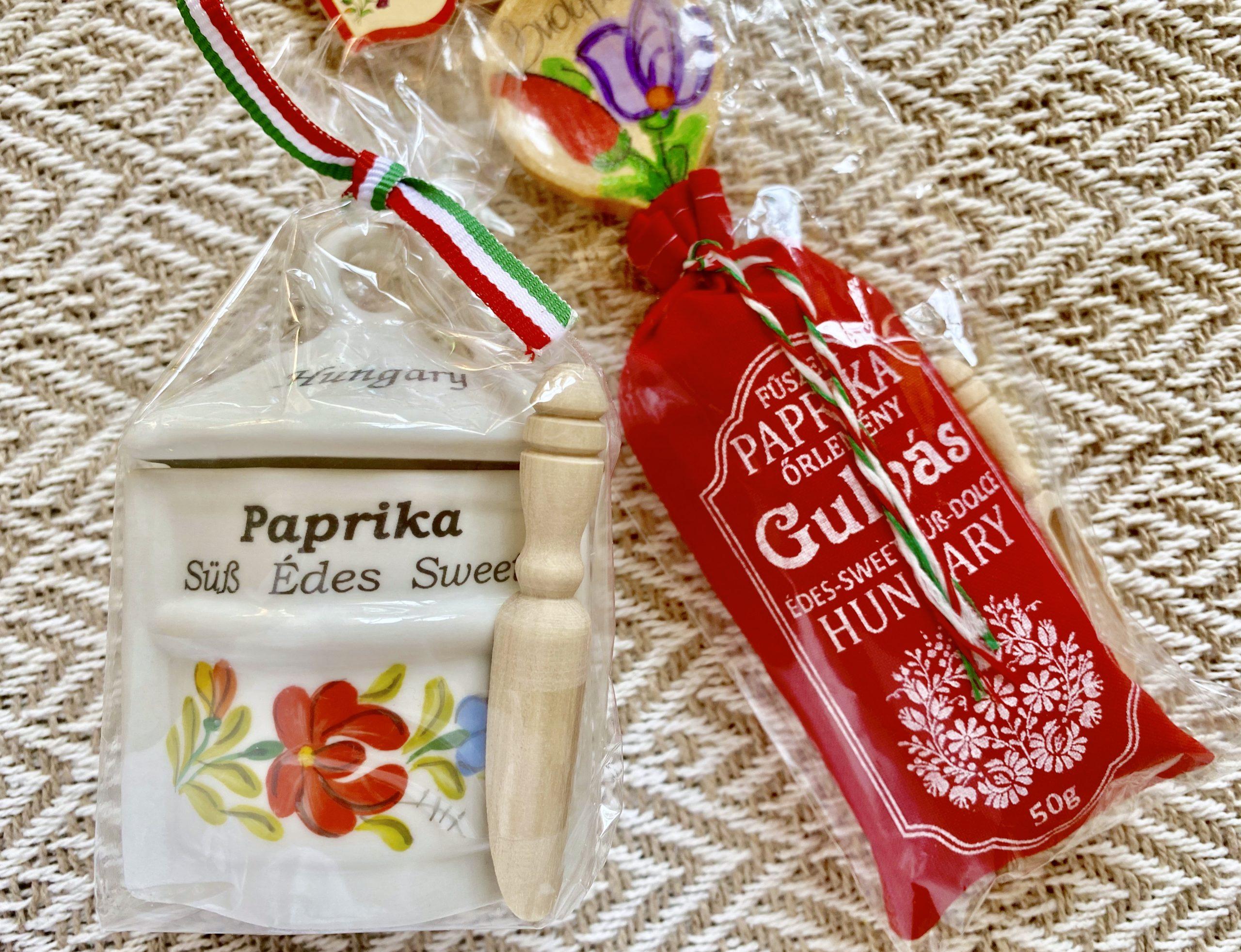 paprika from Budapest