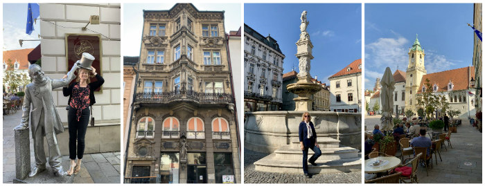 Bratislava collage