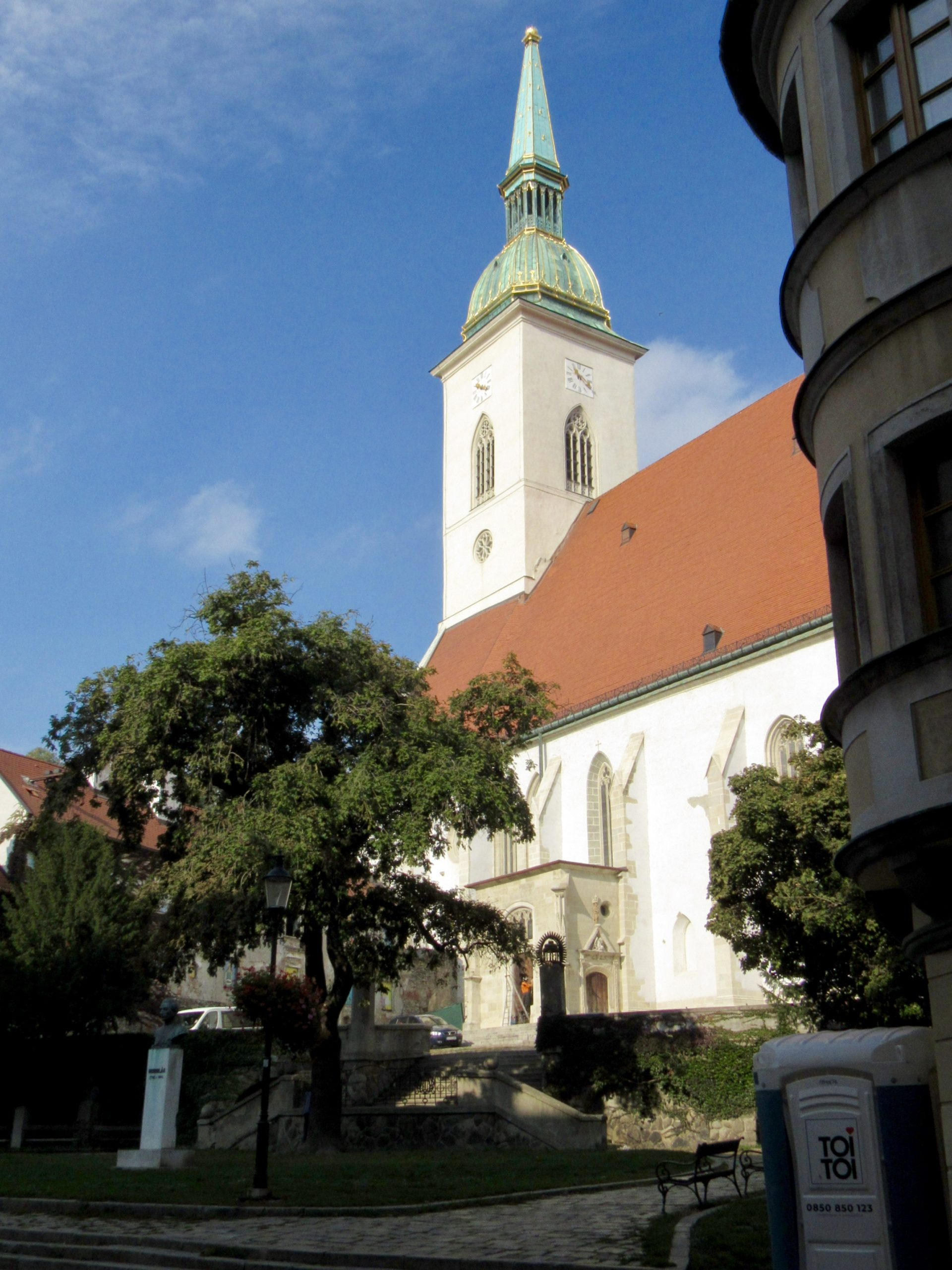 st martins cathedral Bratislava