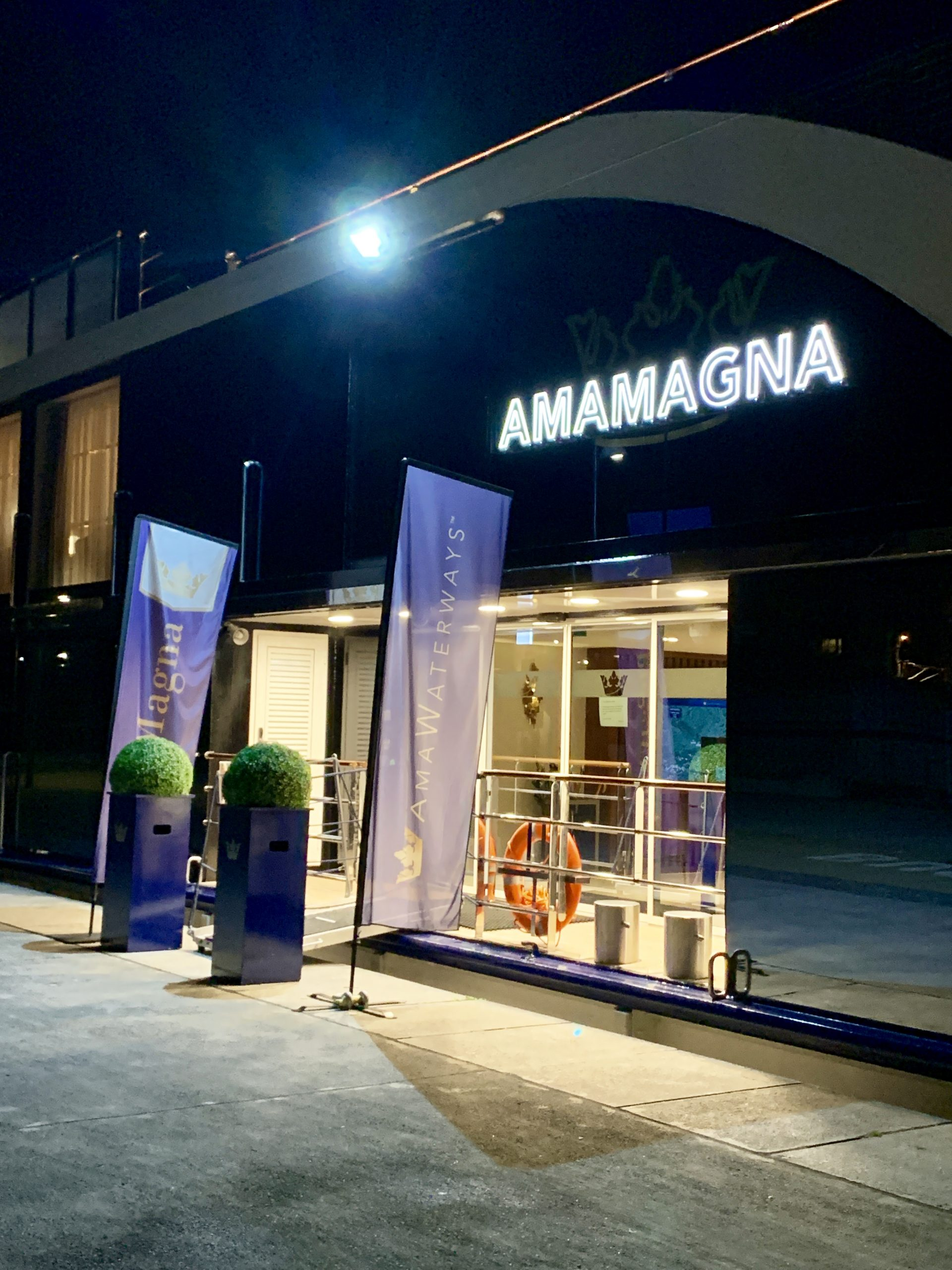 AmaMagna at night