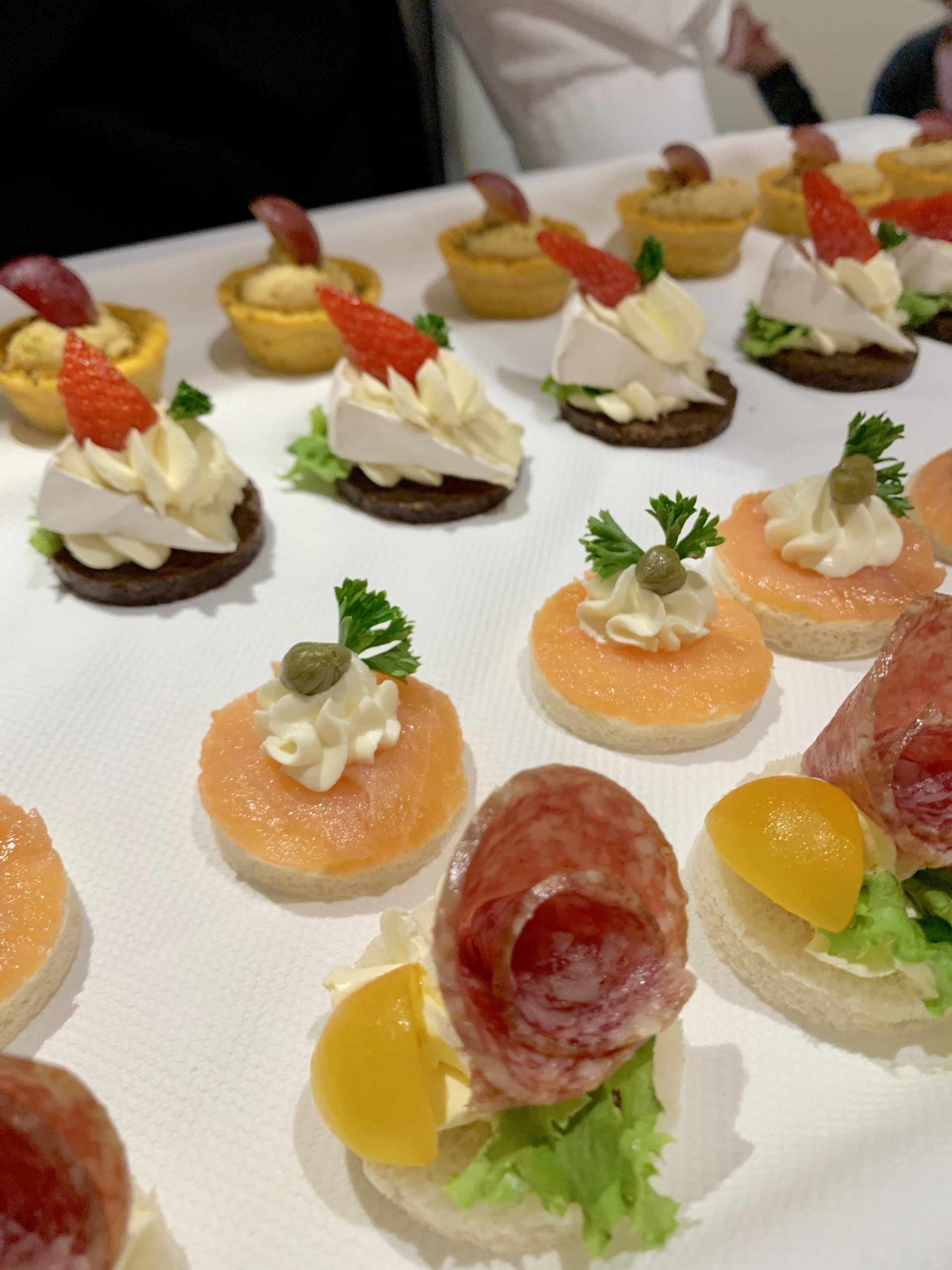appetizers onboard the AmaMagna