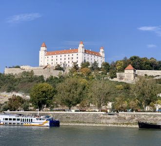 Bratislava Castle view from the AmaMagna