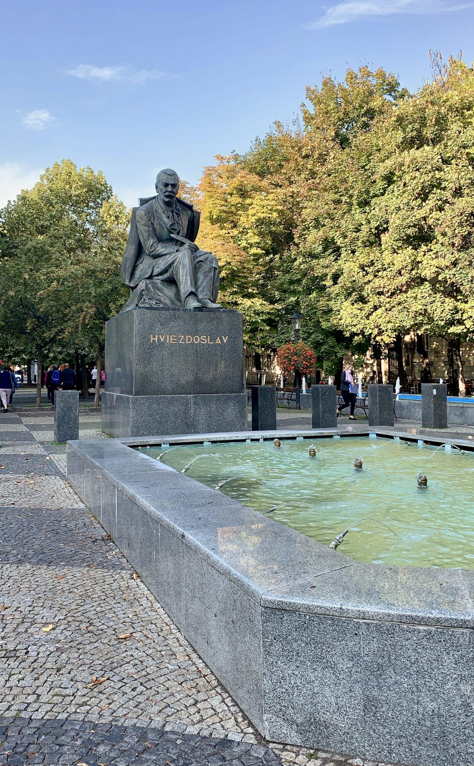 Hviezdoslav statue