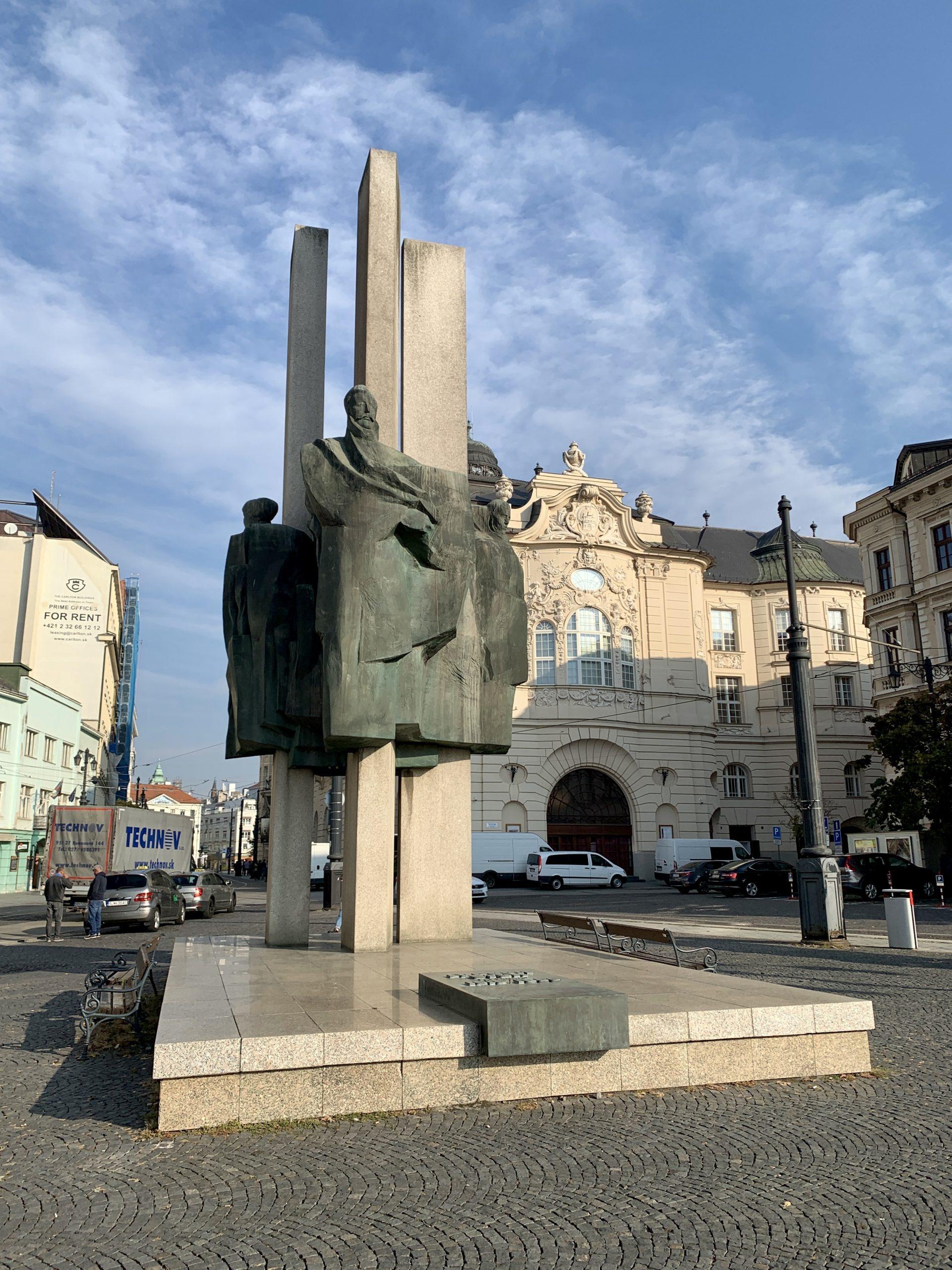 Bratislava statue