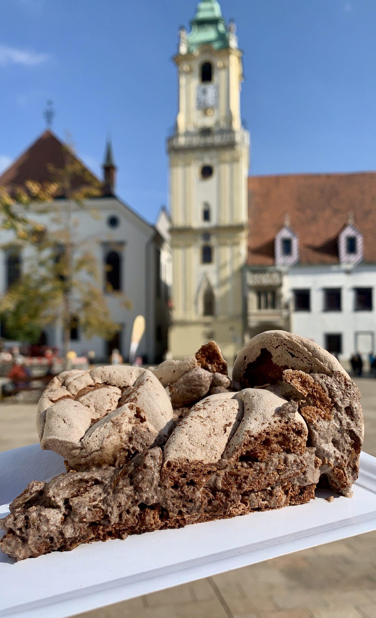 meringue cake in Bratislava
