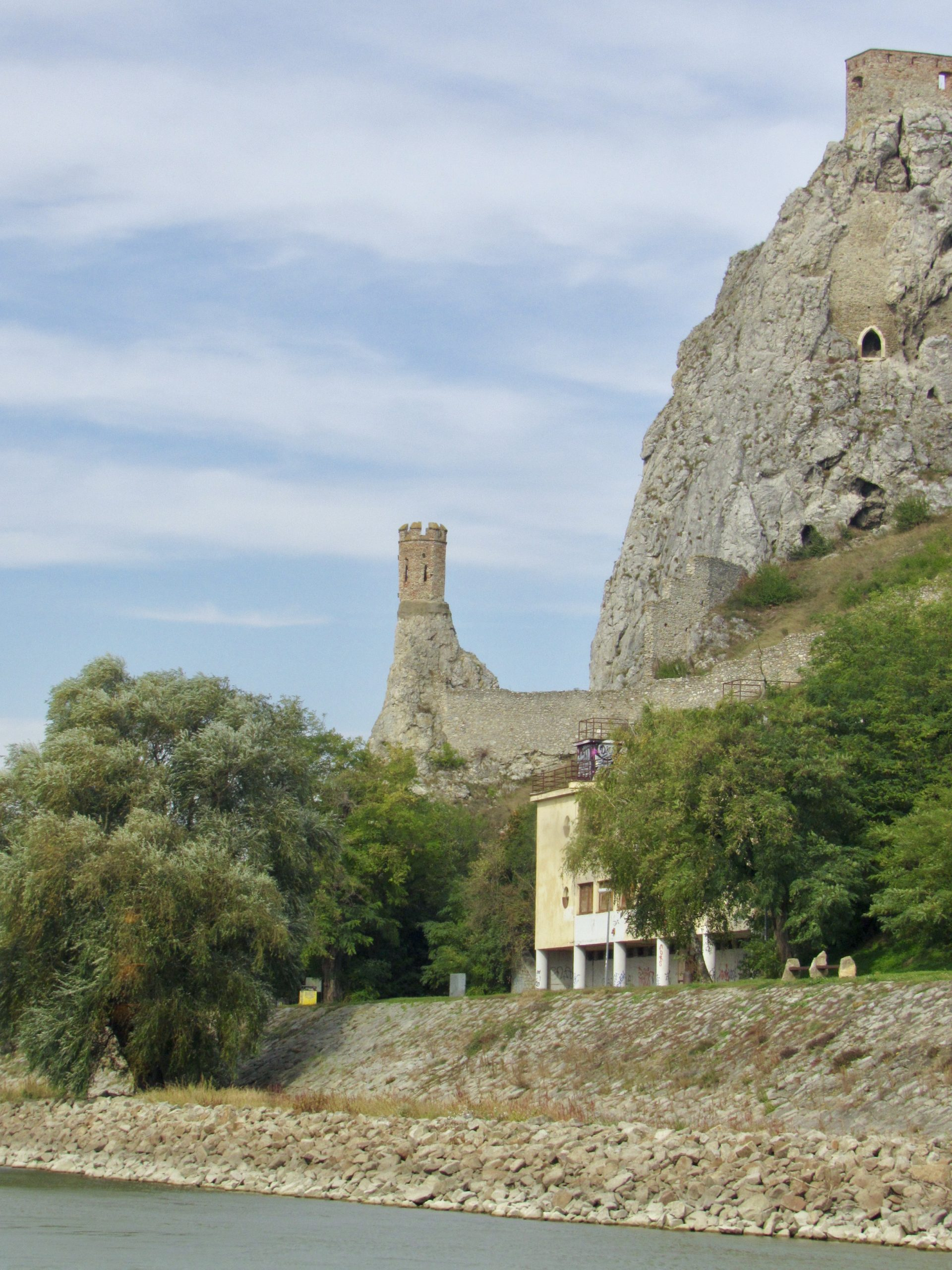 devin castle on the Danube