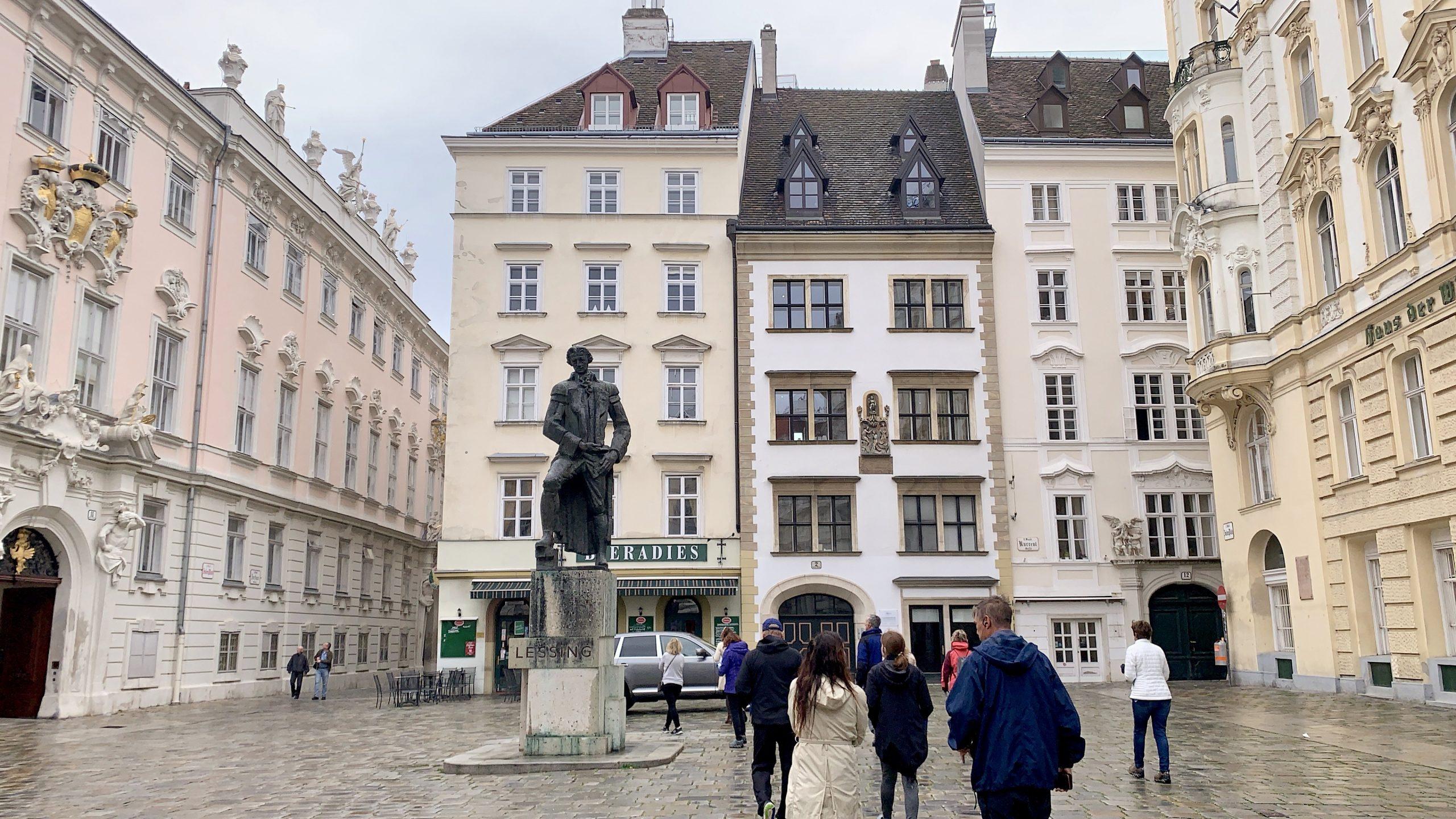 Holocaust memorial in Vienna