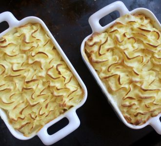 Fish Pot Pie with Leek