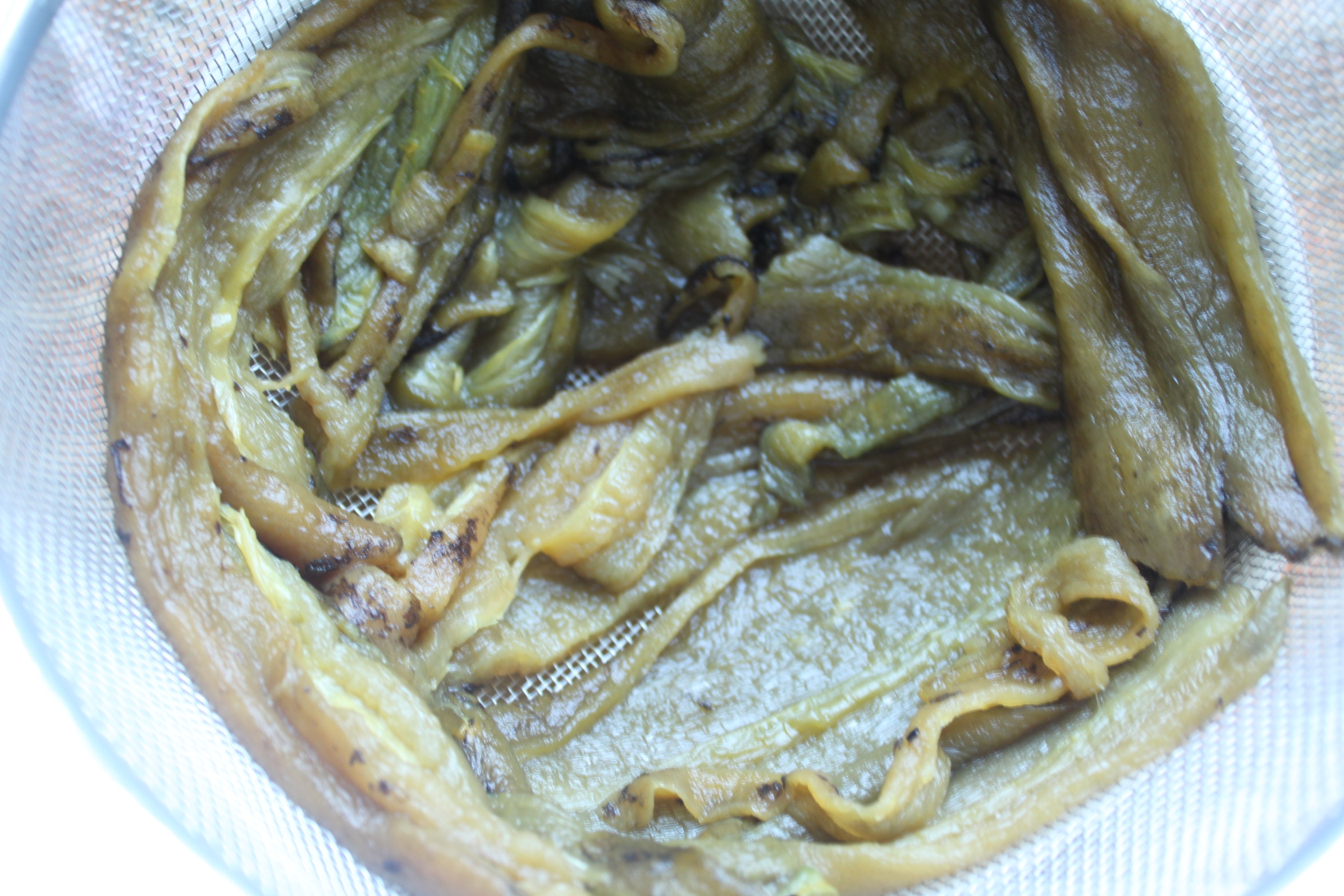 hatch chiles defrosting