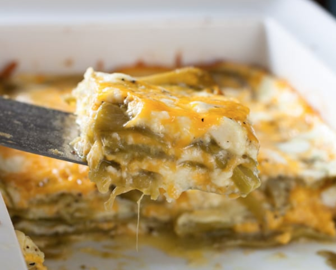 What a Girl Eats Hatch Chile Casserole