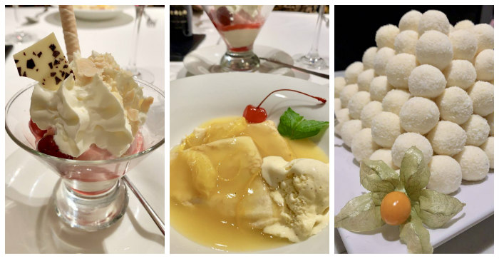 Desserts on the AmaMagna