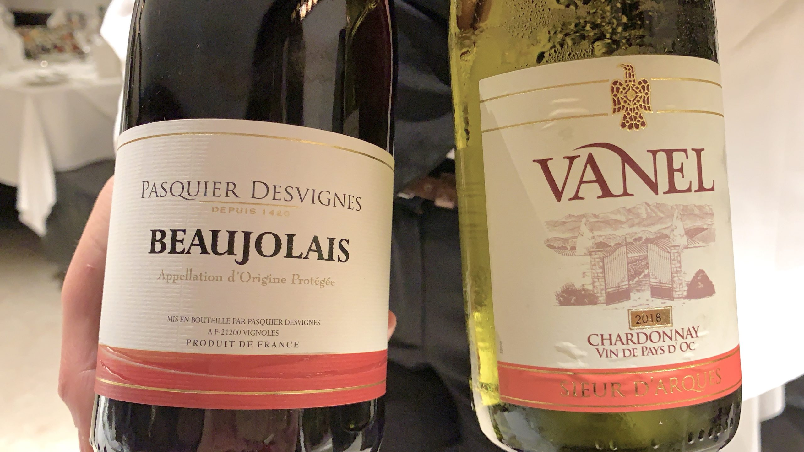 wine on the AmaMagna