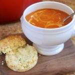 Quick Tomato and Turmeric Soup Recipe