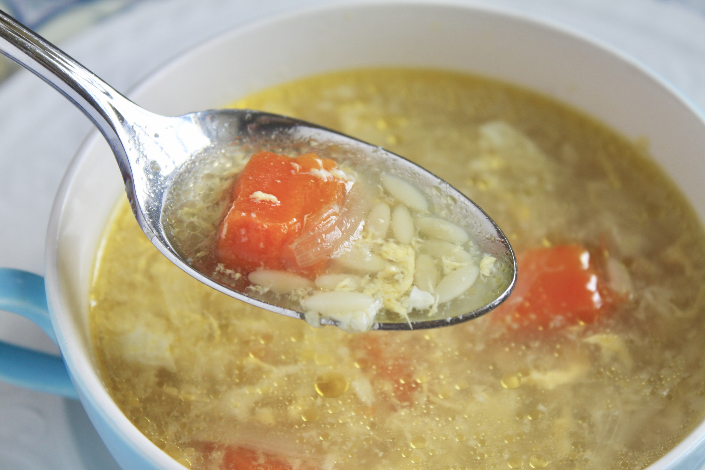 spoonful of pastina soup