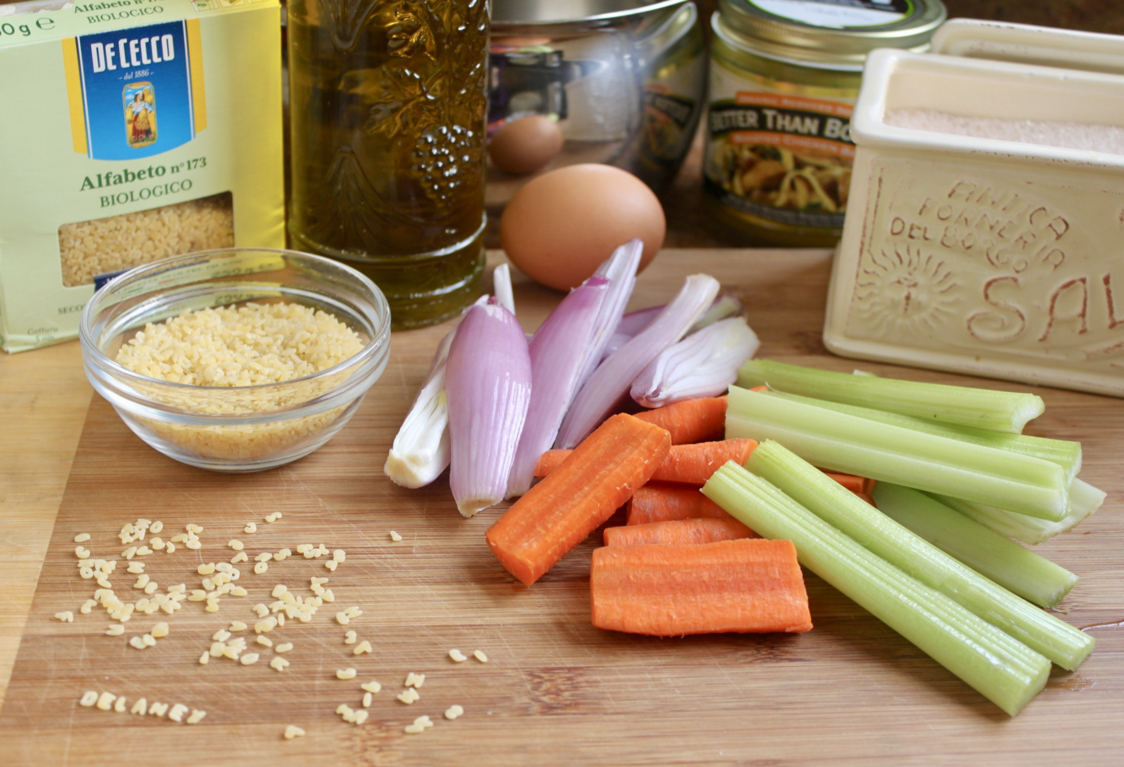 pastina soup ingredients