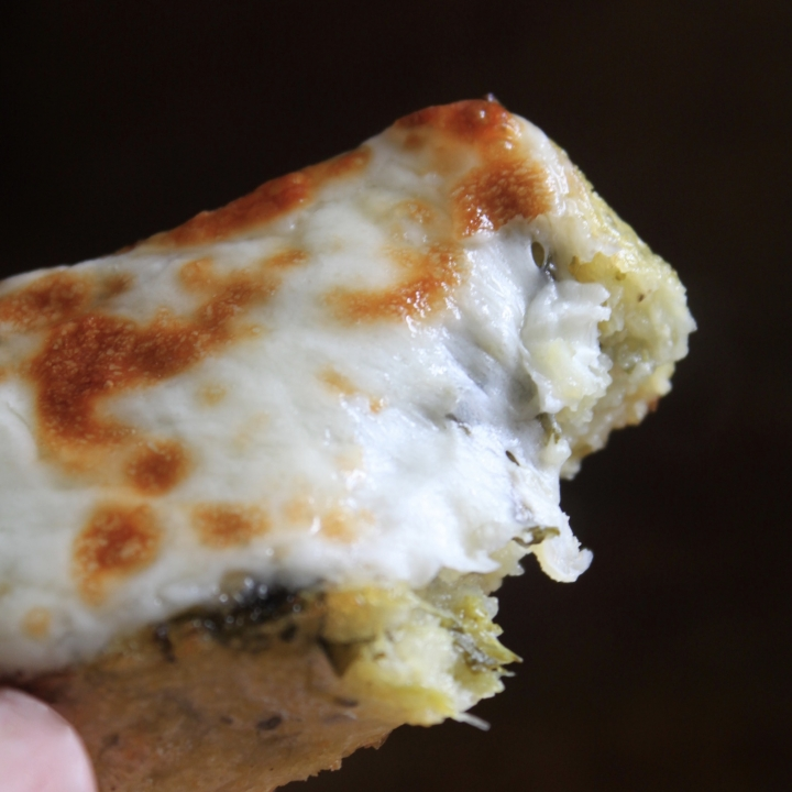 grilled polenta with mozzarella