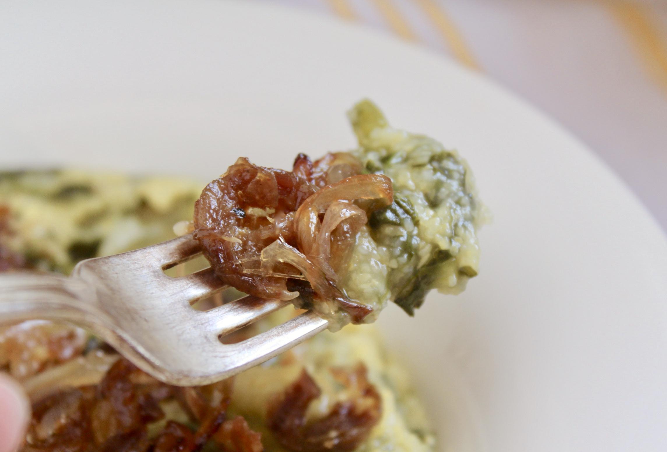 forkful of polenta