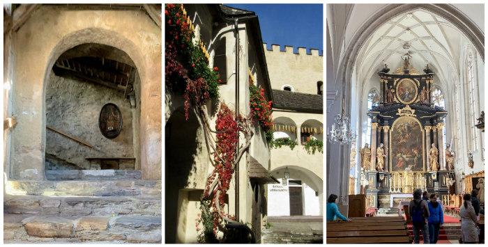 visiting Weissenkirchen church