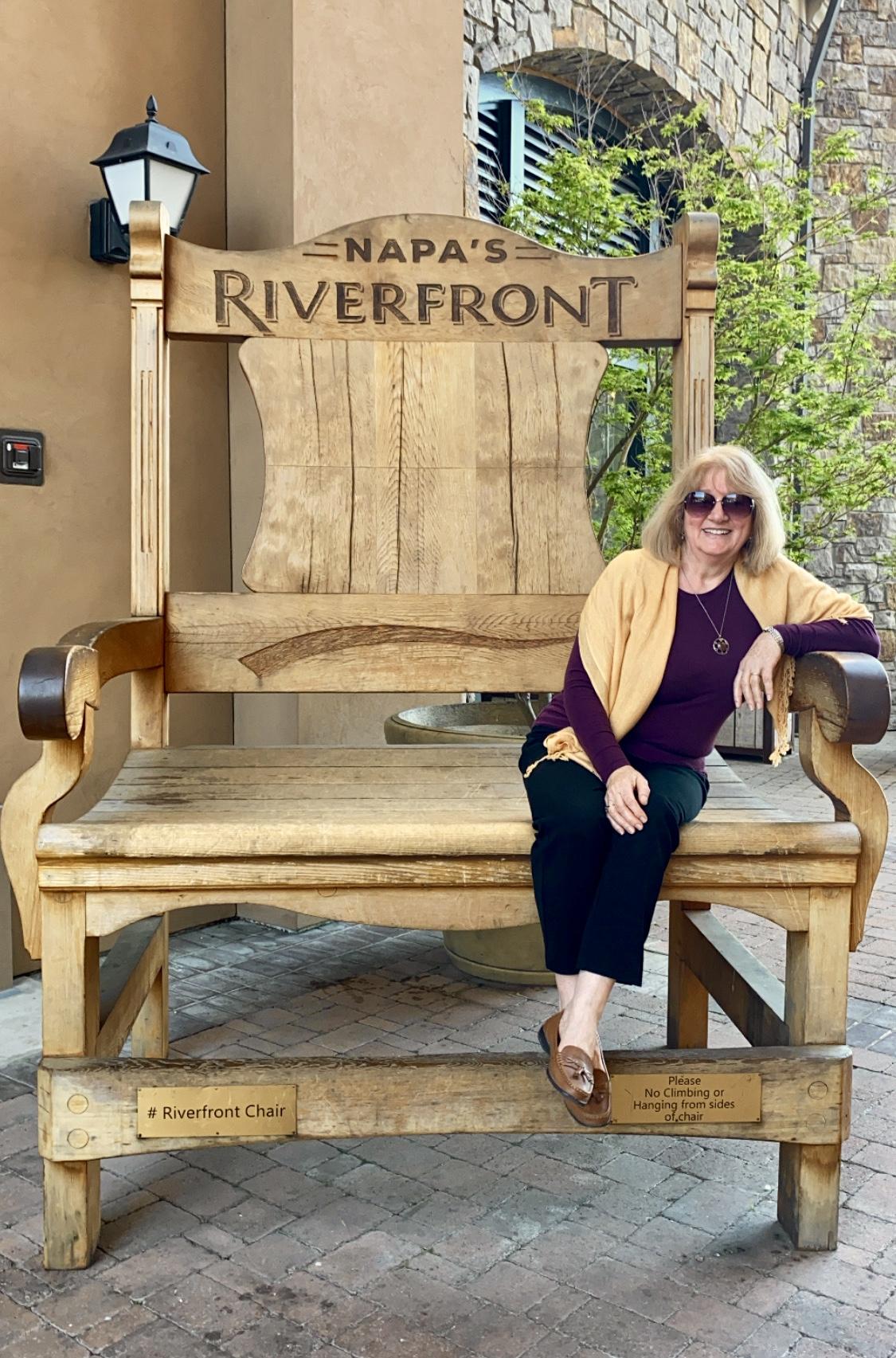 riverfront Napa chair