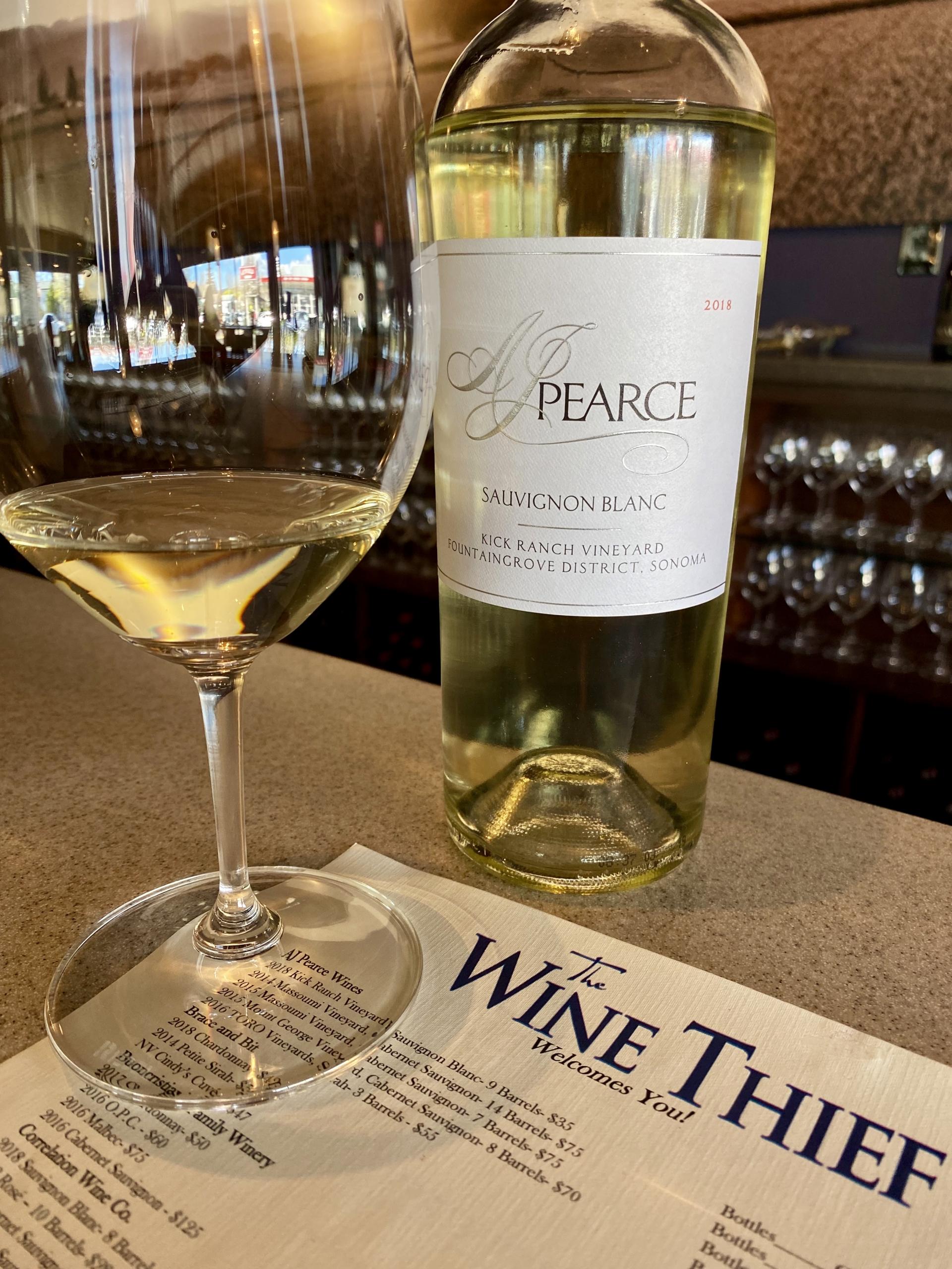 The Wine Thief wine tasting in Napa