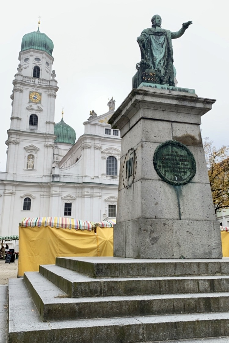 visiting Passau, Germany