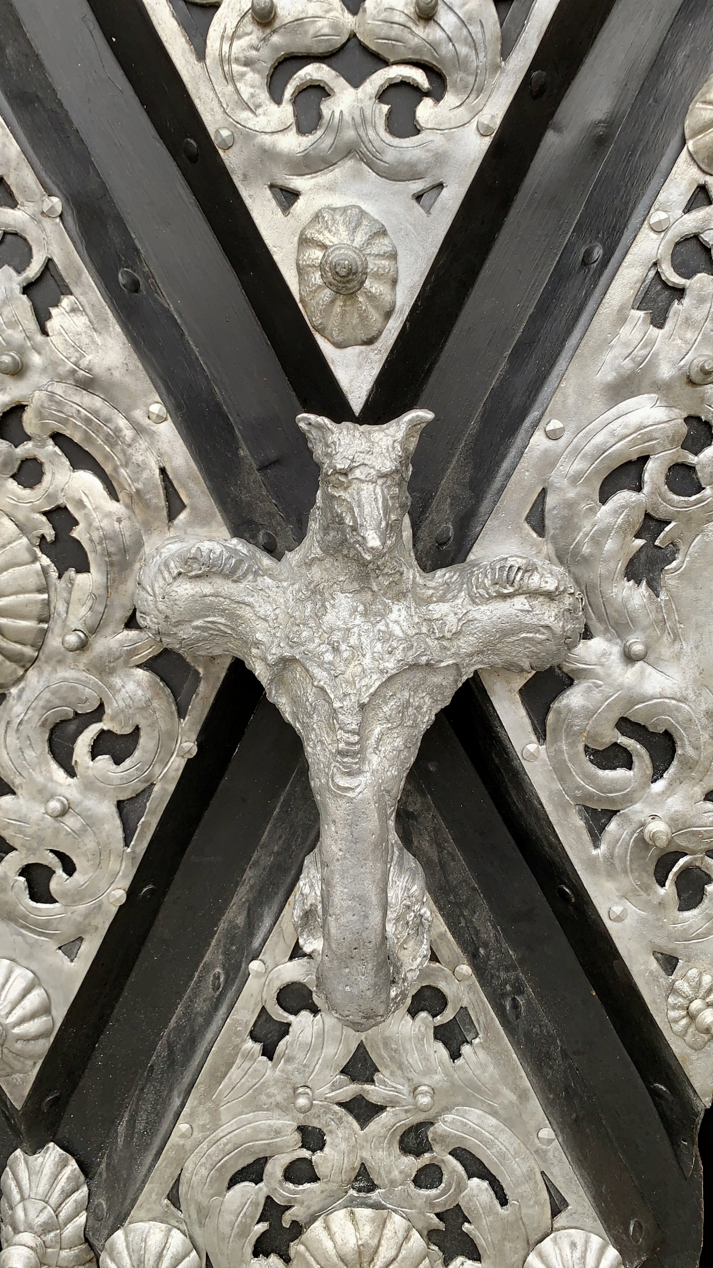 Detail of the door to St Stephen's Cathedral Passau