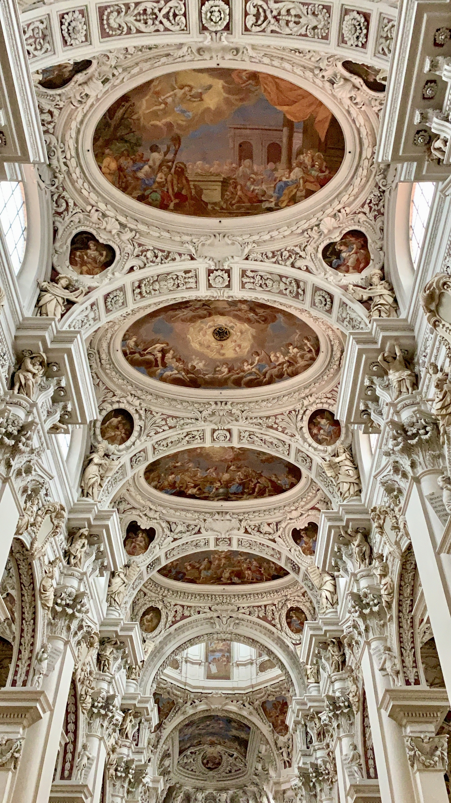 Ceiling of St Stephen's in Passau