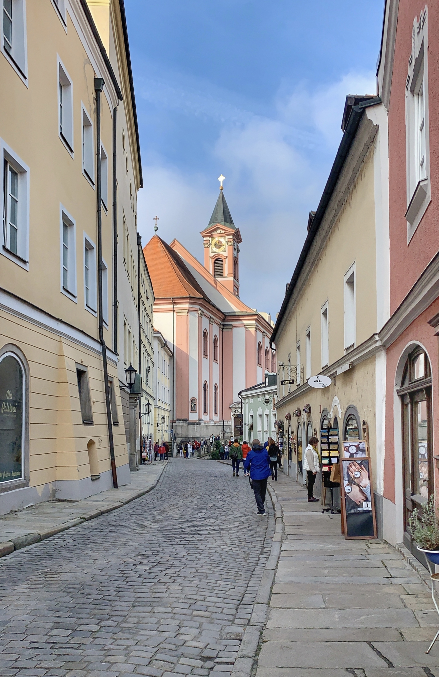 visiting Passau Germany