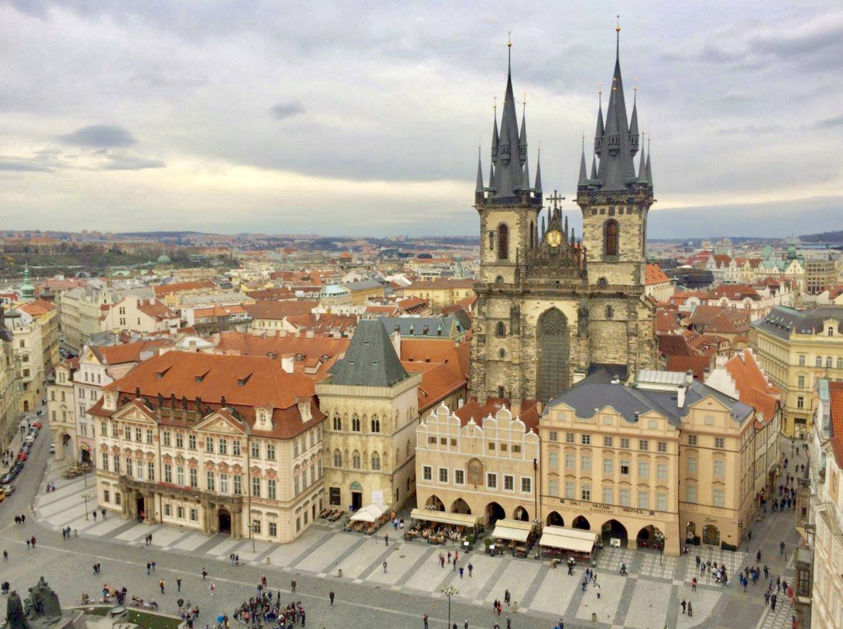 St George Square, Prague