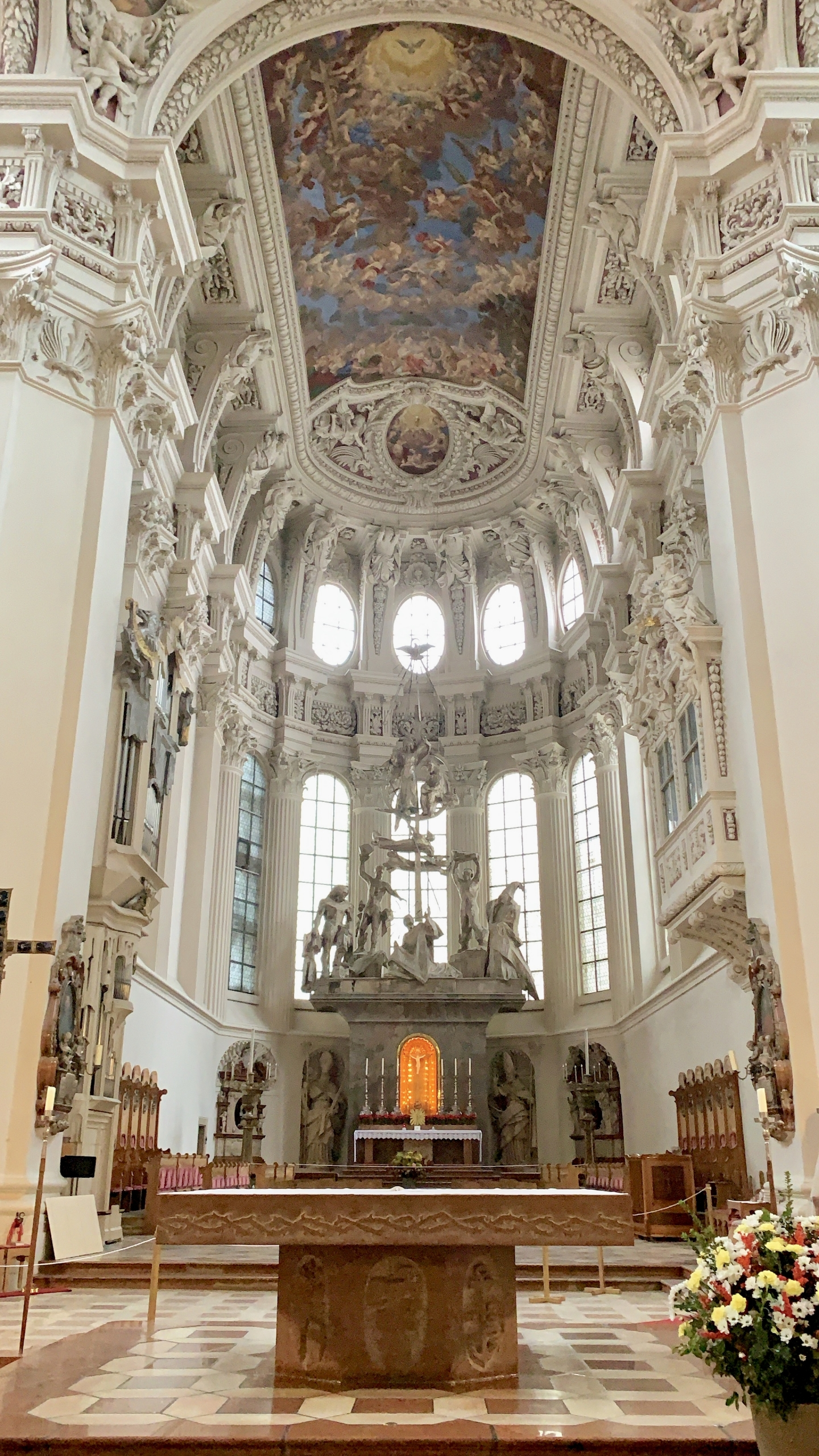 St Stephen's when visiting Passau