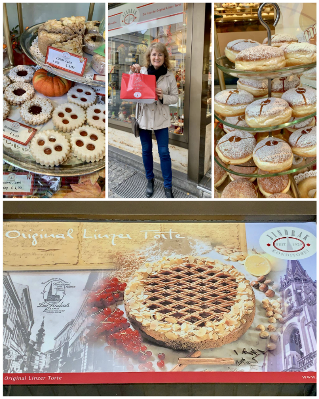 Linz bakery collage