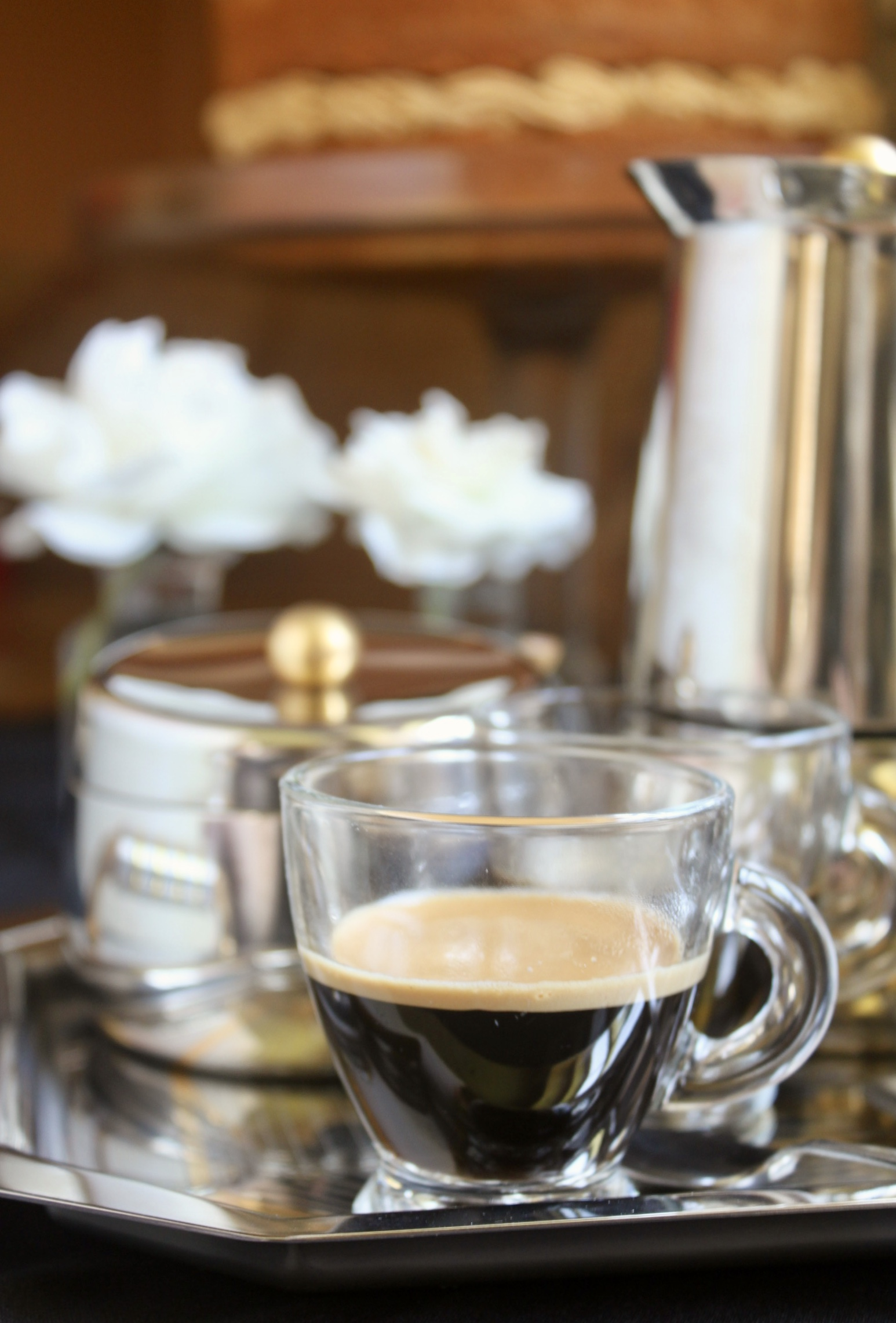 Coffee and Walnut Cake, a Classic British Cake for Afternoon Tea - Christina's Cucina