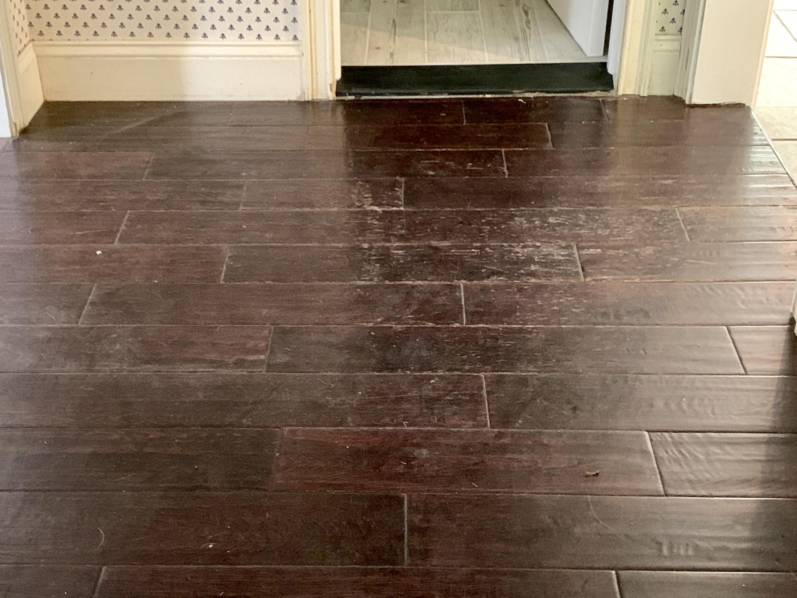 dirty floors