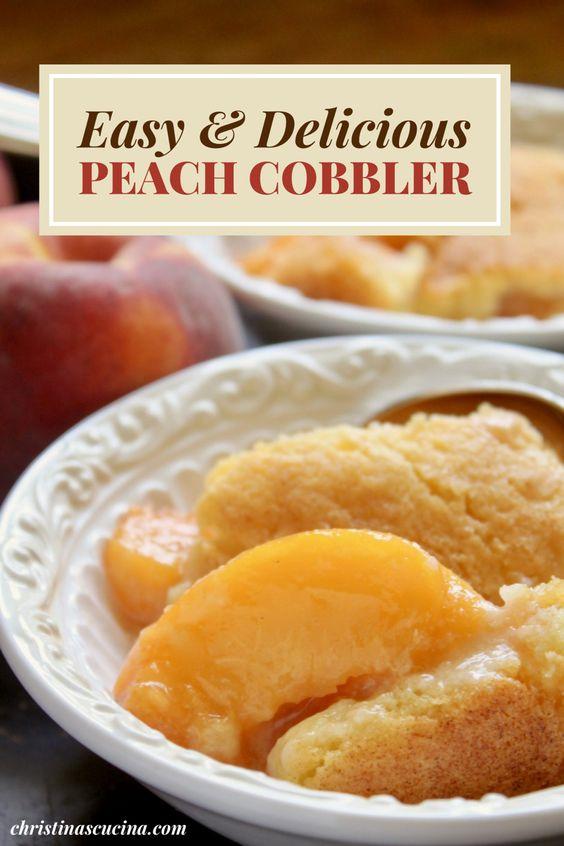 peach cobbler pin