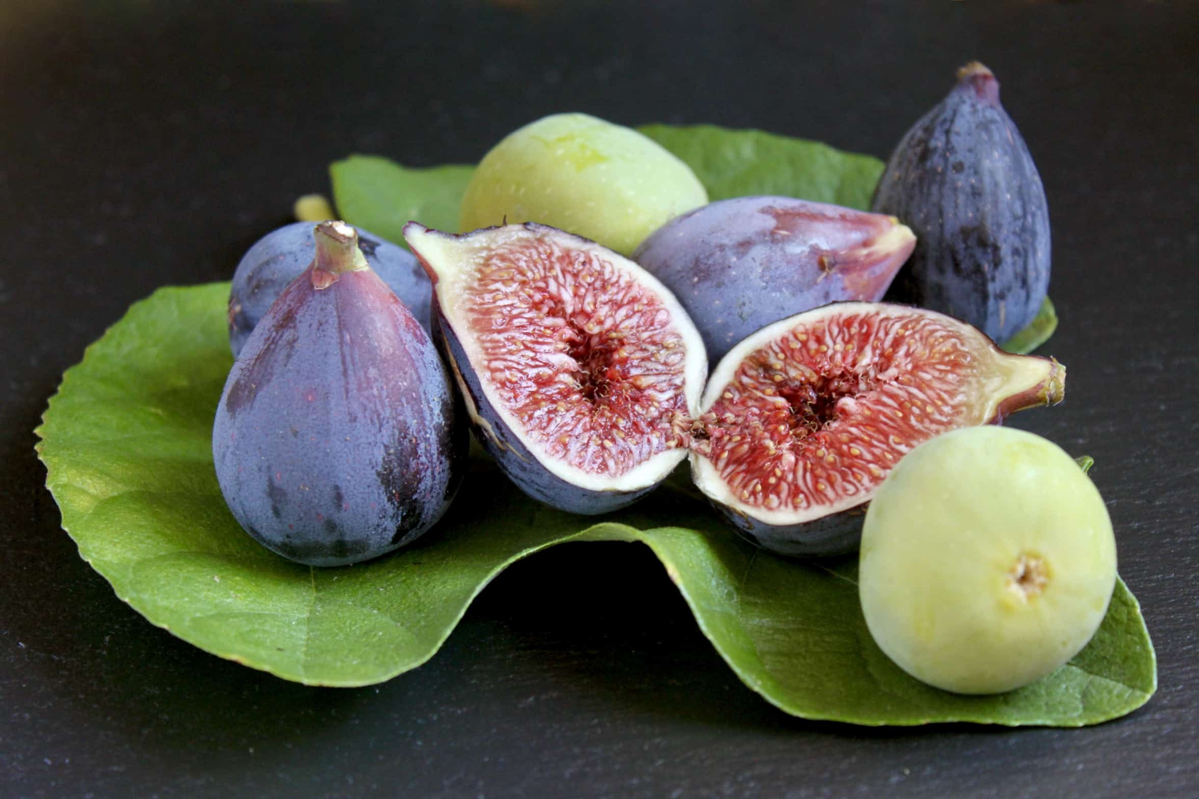 figs on a fig leaf